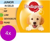 Pedigree Pouch Junior Multipack - Hondenvoer - 4 x 12x100 g