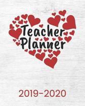 Teacher Planner 2019-2020: Calendar Organizer For Lesson Planning The Academic School Year