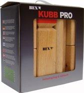 Bex Kubb Pro Original Rode Koning - Rubberhout