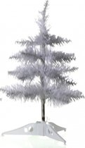 Kleine witte kunst Kerstboom 40 cm