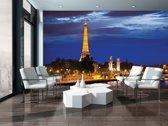 Fotobehang Parijs, Steden | Blauw | 152,5x104cm