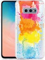 Galaxy S10e Hoesje Color Splatters