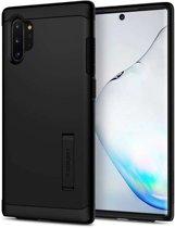 Spigen Slim Armor Samsung Galaxy Note 10 Plus Case - Zwart