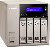 Qnap TVS-463 (4GB RAM) - NAS - 0TB - Zilver