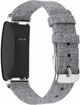 YONO Nylon bandje - Fitbit Inspire (HR) - Grijs