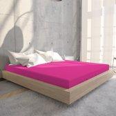 Home Care Hoeslaken - Eenpersoons - 80/90/100 x 200 cm - Hot Roze