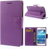 Goospery Sonata Leather hoesje Samsung Galaxy Grand Neo i9060 paars