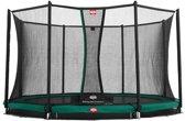 BERG Champion InGround Trampoline - 270 cm - Inclusief Veiligheidsnet Comfort - Groen