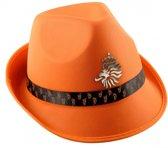 Oranje KNVB trilby hoed