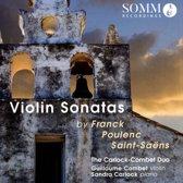 Franck, Poulenc, Saint-Saens: Violin Sonatas