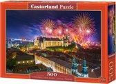 Fireworks over Wawel castle, Poland - 500 stukjes