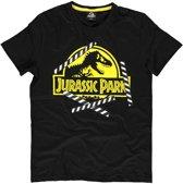 Universal - Jurassic Park Logo Men's T-shirt - M