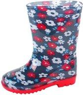 Gevavi Boots Flower meisjeslaars pvc blauw 27