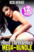 Anal Threesome Mega-Bundle - Books 1 - 12