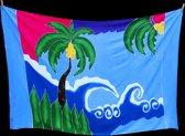 Strand Pareo, Sauna Doek, Sarong Tropical Beach, Strandlaken, Omslagdoek, Wikkelrok 115 * 180 cm