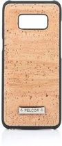 Pelcor Backcover Samsung Galaxy S8 - Bruin/Zwart
