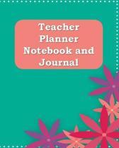 Teacher Planner Notebook and Journal