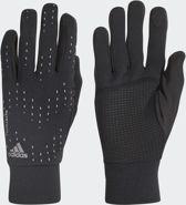 adidas Run Gloves Sporthandschoenen - Black/Black/Silver Met. - Maat M