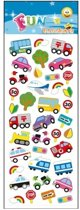 Stickervel autos / verkeer type 2