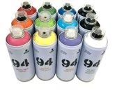MTN94 Spuitbussen pakket - 12 kleuren lage druk en matte afwerking spuitverf - Graffiti verf voor vele doeleinden zoals voor diy, klussen, graffiti, hobby en kunst