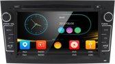 Opel autoradio wince DAB+ look autoradio met navigatie usb aux touchscreen zwart