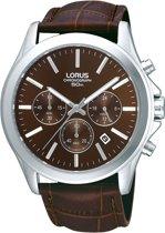 Lorus RT381AX9 - Horloge - 42 mm - Bruin