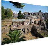 De ruïnes van Pompeï in Italië Plexiglas 90x60 cm - Foto print op Glas (Plexiglas wanddecoratie)