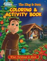 O Holy Night the King Born Coloring & Activity Book