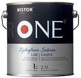 One Lak Zijdeglans Acryl - 1 Liter