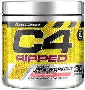 Cellucor C4 Ripped - Pre-workout - 180 gram (30 servings) - Raspberry Lemonade