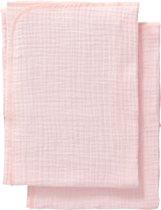 Cottonbaby Multidoek soft S 60x70 per2 roze