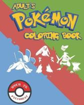 Adult's Pokemon Coloring Book