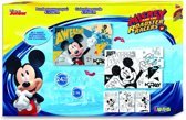 Luna Mickey Mouse 2-zijdige Puzzel 24 Stukjes