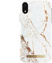 Ideal of Sweden Fashion Back Case Carrara Gold voor iPhone Xs Max