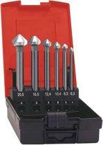 Kopverzinkboren-set WN extra lang 6,3-20,5mm
