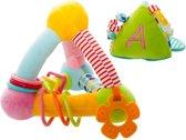 Piramide van Stof met Activiteiten - 2 Delig - Imaginarium - Speelgoed voor Baby