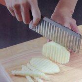 Handige aardappelsnijder | Aardappelmes | Ribbelfriet