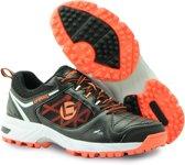 Brabo Brabo Tribute shoe Black/Orange Hockeyschoenen Unisex - Orange