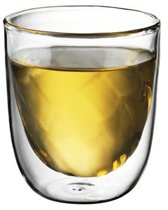 QDO Dubbelwandige Glazen 'Blown' - 180 ml - 2 stuks