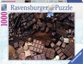 Ravensburger puzzel Chocoholic heaven - Legpuzzel - 1000 stukjes