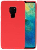Rood Color TPU Hoesje voor Huawei Mate 20