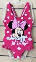 Disney Minnie Mouse - Kinder /Peuter/Kleuter - badpak - Roze -  Maat 98 ( 3 jaar)