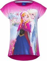 Disney Frozen t-shirt roze voor meisjes 128 (8 jaar)