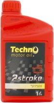 Techno  Motorolie Tweetakt Semisynthetisch - Motorolie - 1L
