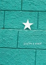 FT 124912 You Are A Star Ster Op Muur