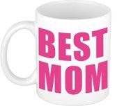 Moederdag cadeau mok / beker - Best Mom - 300 ml