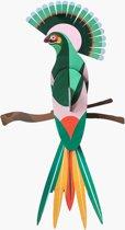 Studio ROOF | 3D Wanddecoratie | Paradijsvogel Gili