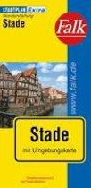 Falk Stadtplan Extra Standardfaltung Stade 1:17 500