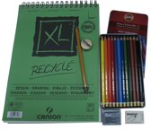 Canson Album recycled papier XL - 160gram - A4 - 50 vellen