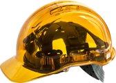 Veiligheidshelm Transparant Oranje  - PV50